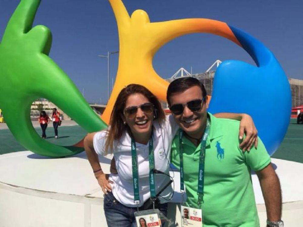 Soraia Ferreira e Ziad Fares