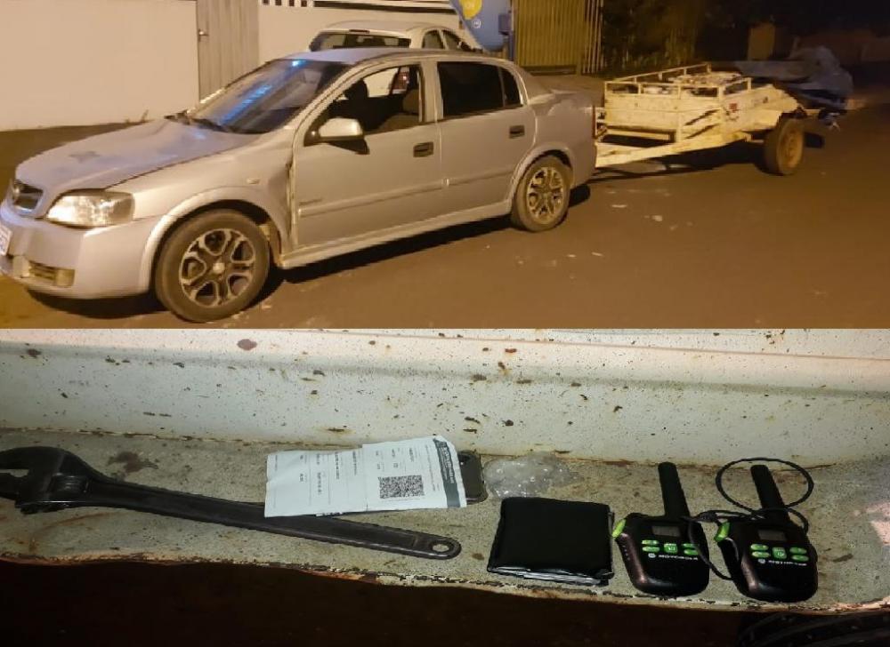 Policiais interceptam quadrilha e apreendem 27 galões de combustível em Alto Araguaia